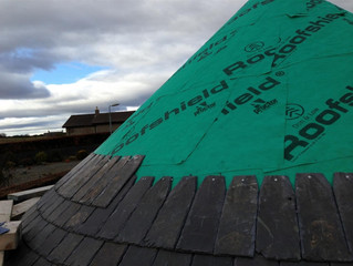 Conical Roof Slating