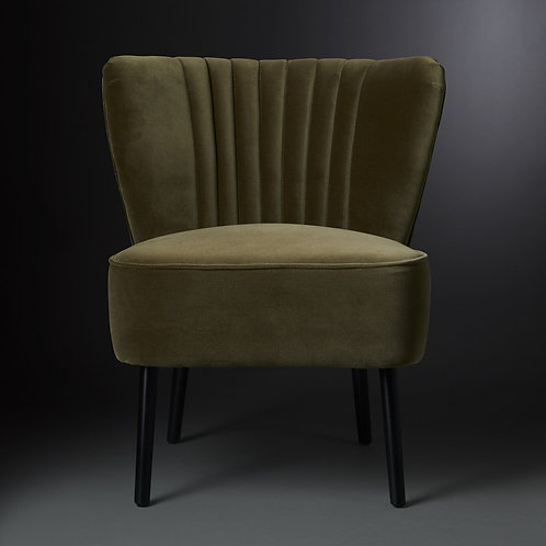 Chair Retro, mossgreen