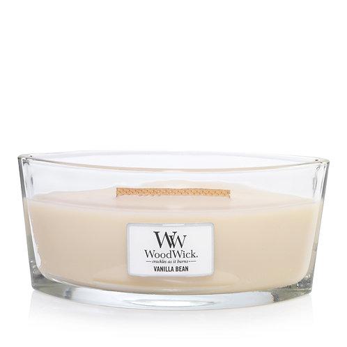 WoodWick® Vanilla Bean Kerzenglas mit Knisterdocht