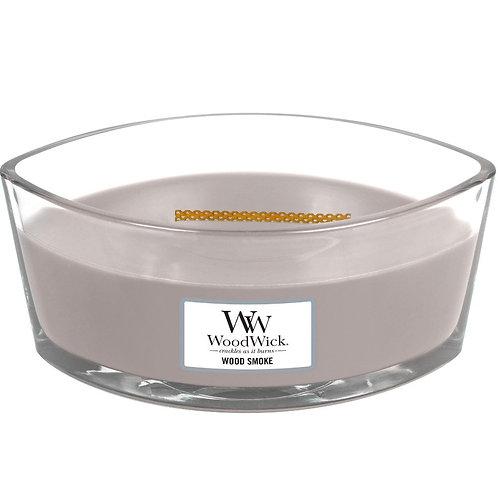 WoodWick® Wood Smoke Kerzenglas mit Knisterdocht