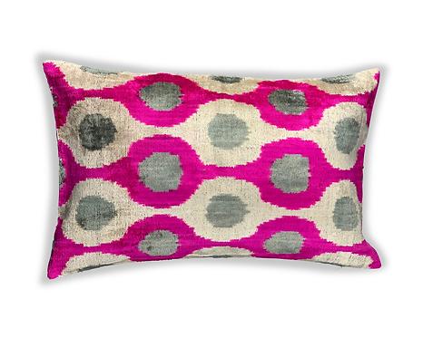 Kissen Handgewebt 40x60 Farbe ro