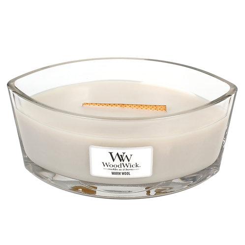 WoodWick® Warm Wool Kerzenglas mit Knisterdocht