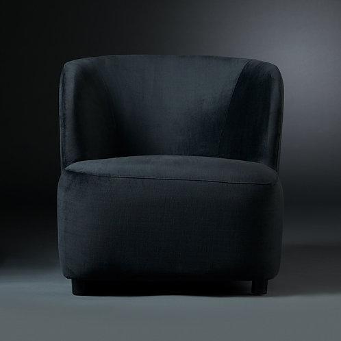 Club Chair Hampton, black