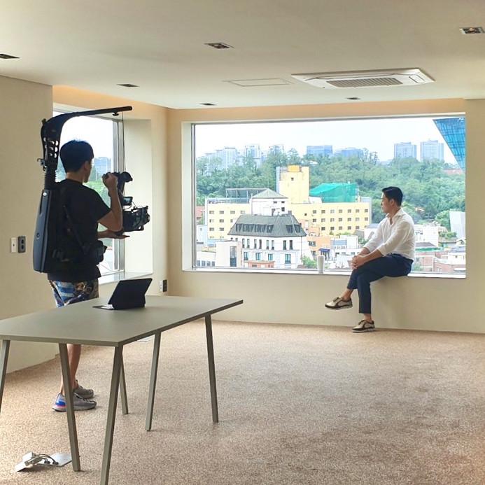 APC 사옥 건물 준공필름 제작 현장