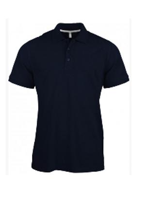 Polo coton avec logo brodé