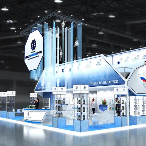 Выставочный стенд для производителя алкоголя - Exhibition stand for alcohol drinks producer