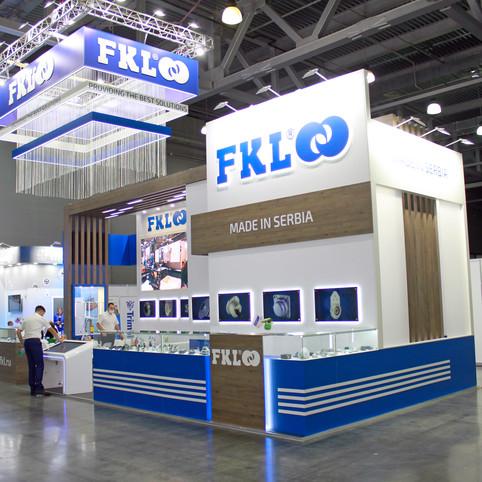 Выставочный стенд для компании FKL на выставке Агросалон, Крокус Экспо, Московская область