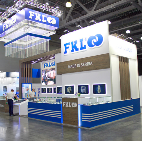 Exhibition Stand for FKL at Agrosalon, Crocus Expo, Moscow