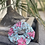 Thumbnail: Chanderi phool scrunchie