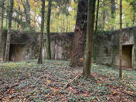 Château de Bétange Moselle Blockaus dans