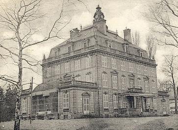 Château de Bétange au XIXème siècle.