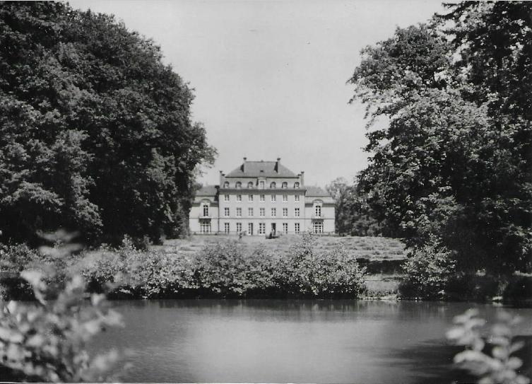 Château de Bétange façade arrière