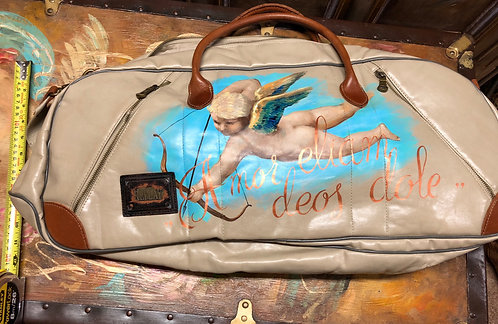 Replay  Duffle Gym Bag Hand painted