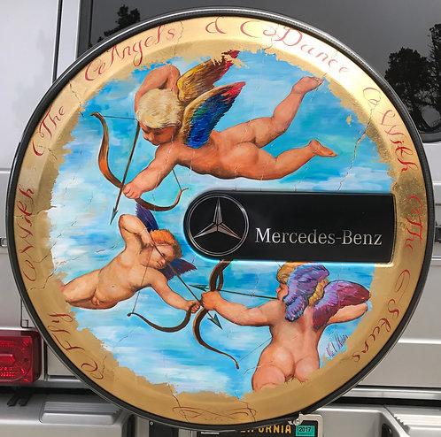 Mercede-Bens G-Class W 463  Weel Cover