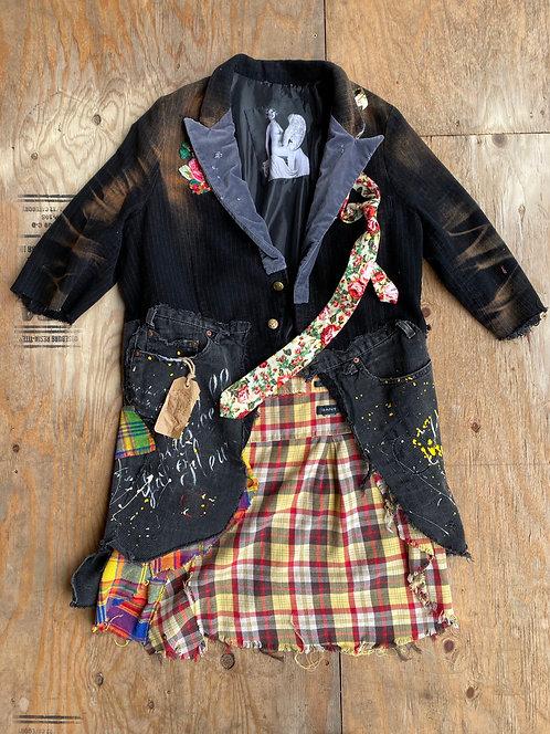 Artistic Denim Velvet Camisole size XL