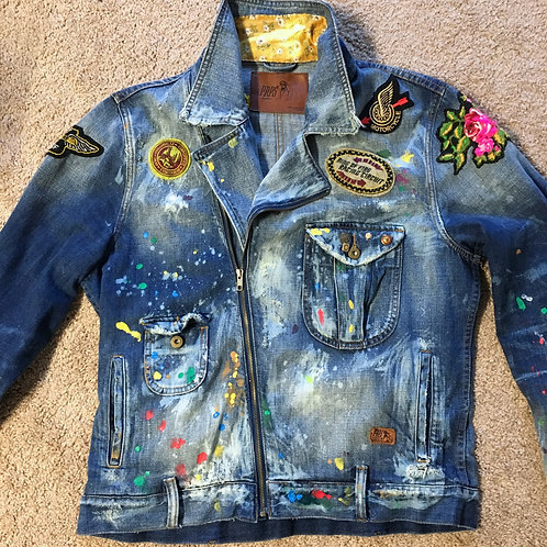 PRPS Denim Jacket Size XL Custom (SOLD)