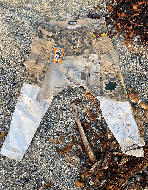 """Military cargo pants """"Lucky""""size 38x32"""