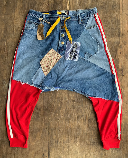 "Levis 501jeans (Wrangler) Holiday pants ""Wind in your hair"" size (32-40) Custom"