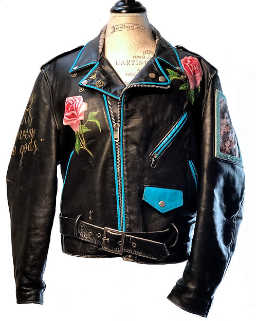 SCHOTT NYC PERFECTO 618 CUSTOM Vintage 80s Leather Motorcycle Jacket (SOLD)