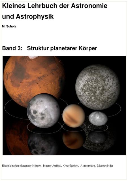 Band 3: Struktur planetarer Körper