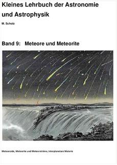Band 9: Meteore und Meteorite