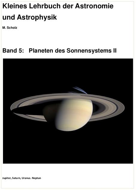 Band 5: Planeten des Sonnensystems II