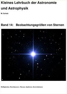 Band 14: Beobachtungsgrössen von Sternen