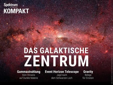 Neue Spezialausgabe zum Zentrum unserer Galaxie im Mitgliederbereich!