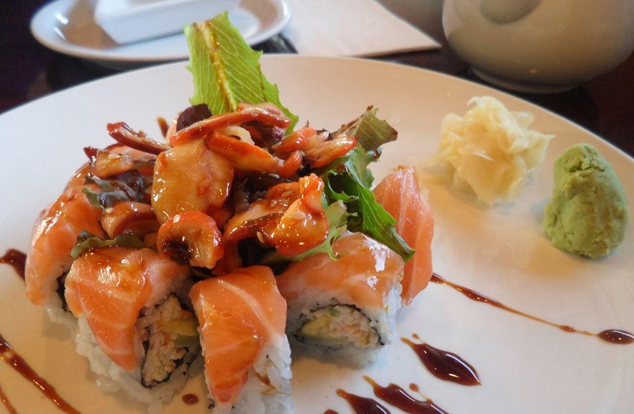 Calamari Enchilada Roll