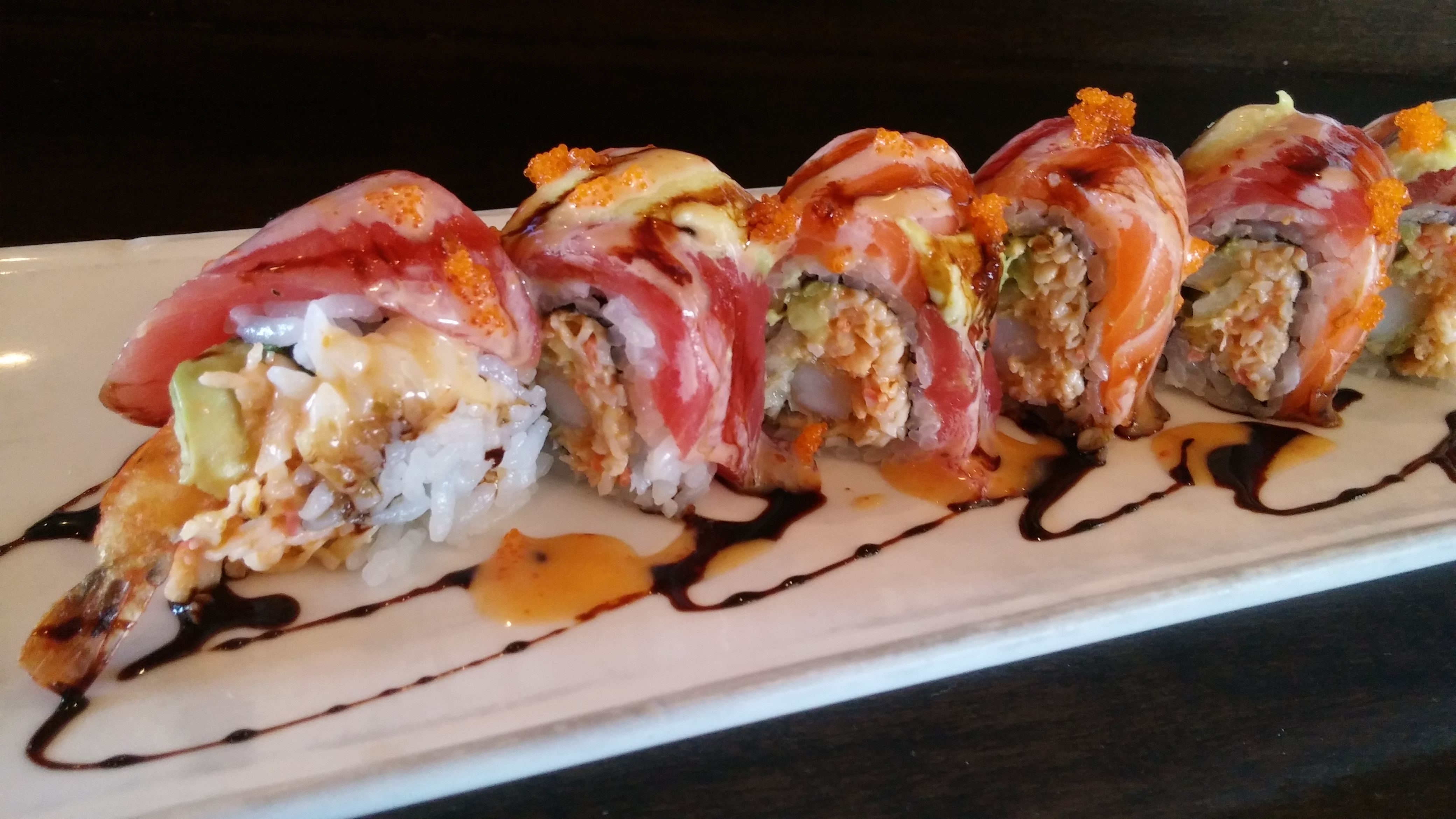 Twin Dragon Roll