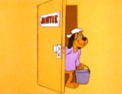 mild mannered janitor