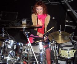trev brulee playing drums
