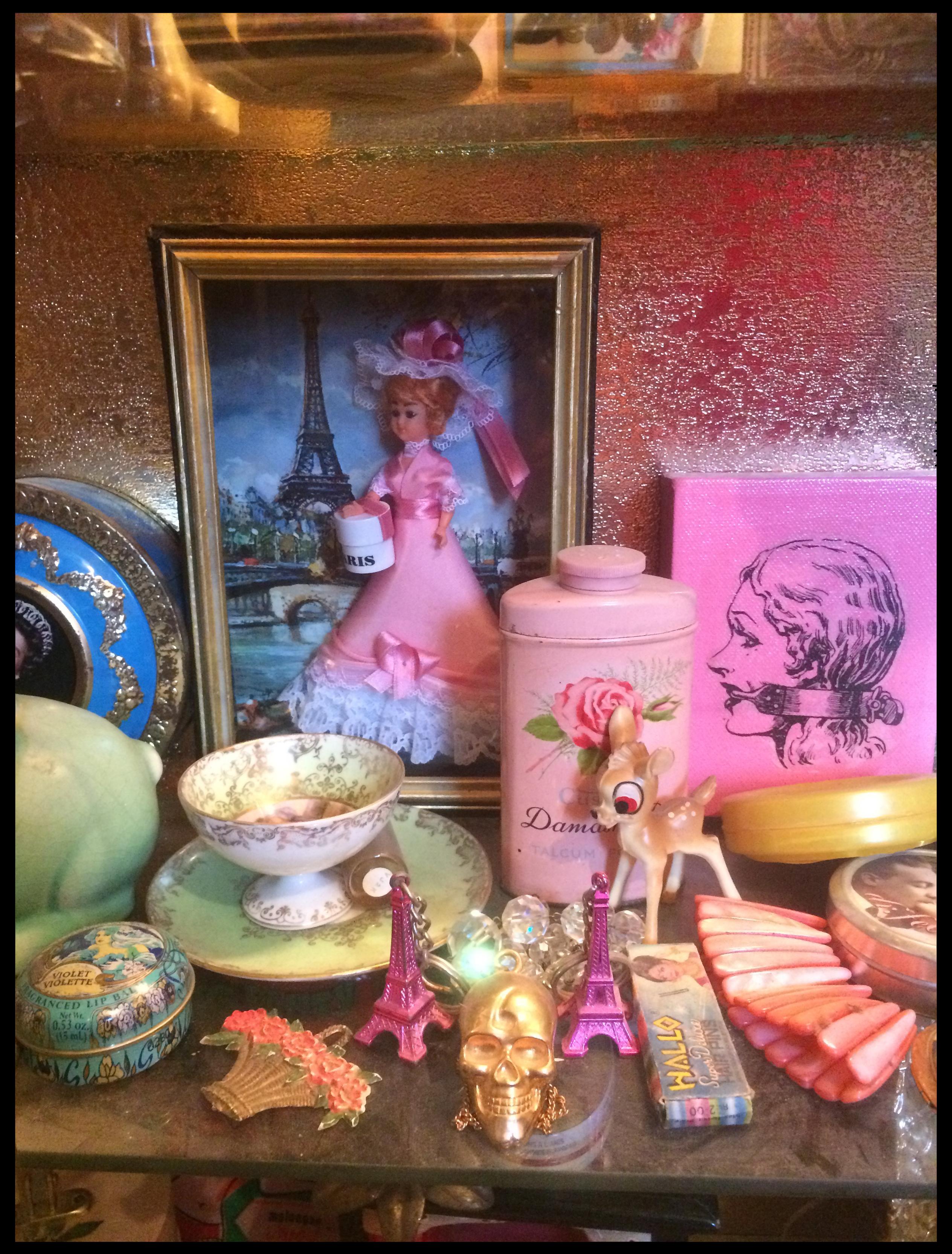 50s boudoir room cabinet