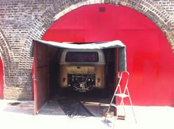 van in arch