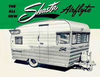 1959 Shasta Airflyte 16 | FOUND Motorcars