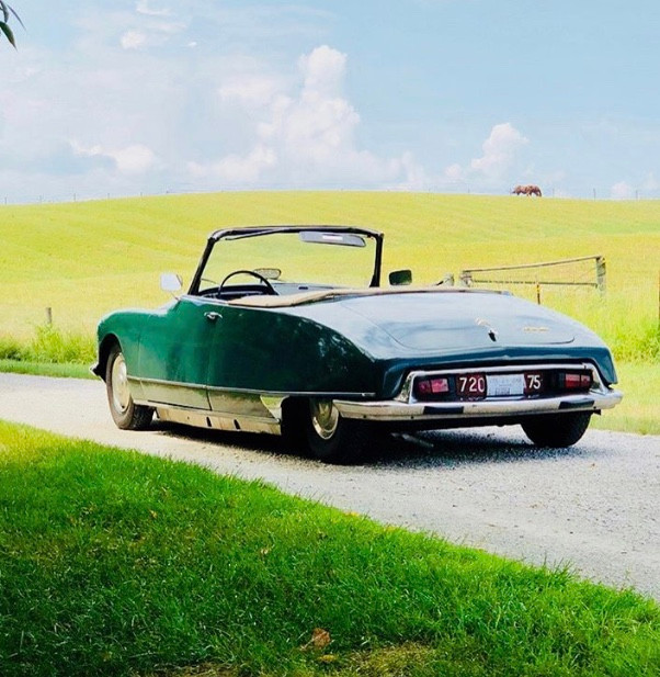 1967 Citroern DS21 Chapron convertible
