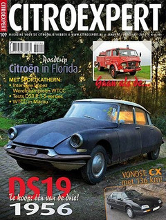 1956 Citroen DS19 #5199