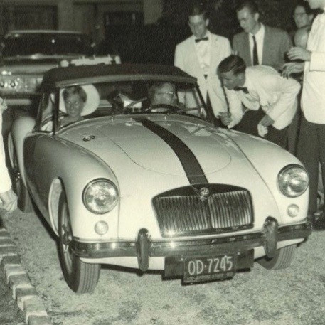 Wedding MG MGA
