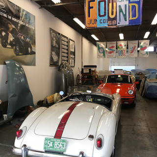 With friends at FOUND Motorcars