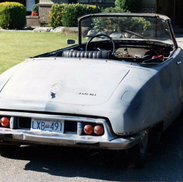 1966 DS21 Chapron convertible