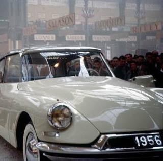 October 1955 Paris Auto Salon
