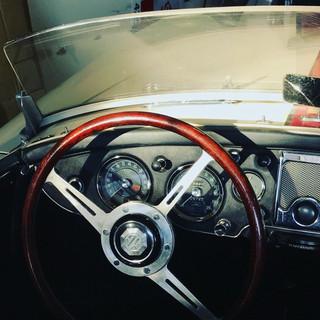 1959 MG MGA Twin Cam dash