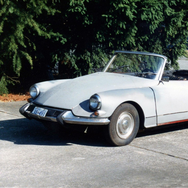 1966 DS21 Chapron convertible As driven from California to Vancouver, BC Canada