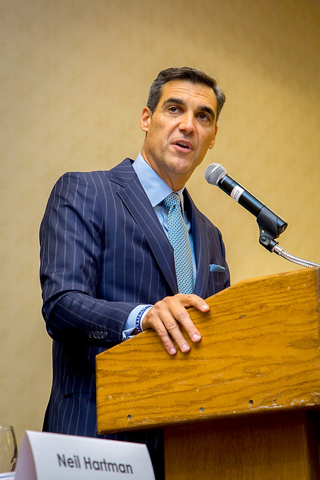 Jay Wright, Villanova's Basketball Coach at Coaches Versus Cancer