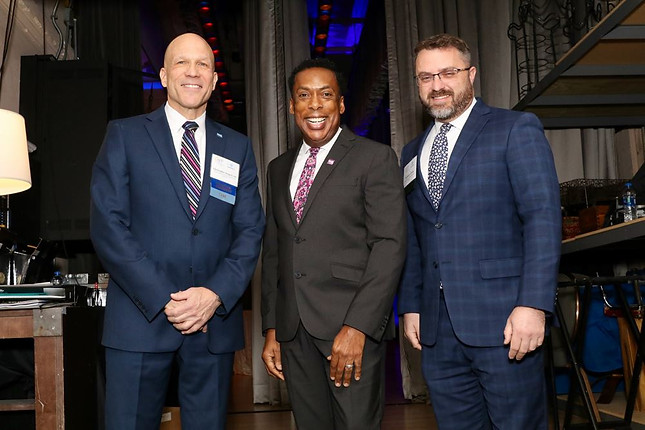 AFP - Christopher Jungers, CFRE, Gregory L. DeShields CHO, CHE, Philadelphia Convention Center and Vistors Bureau, Bill Gross, Holy Redeemer Health System, MBA