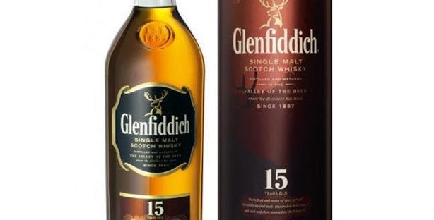 Glenfiddich 15 Años 750cc