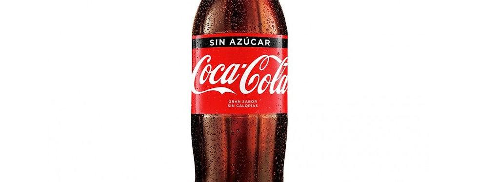 Coca Cola Sin Azucar 1.5L - Pack x 8un