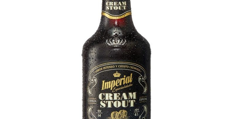 Imperial Cream Stout 500cc - Caja x 12un