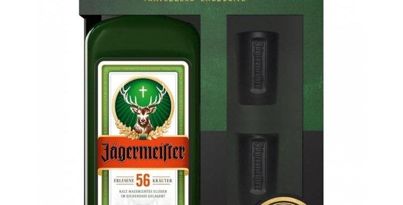 Jagermeister 1,75L + Estuche + 2 Shots