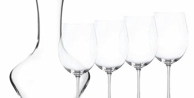 Decantador + 4 Copas De Vino Nachtmann Vivendi